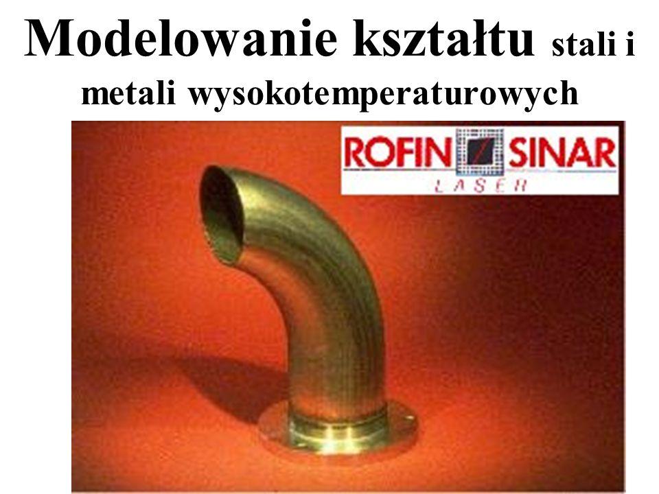 Modelowanie kształtu stali i metali wysokotemperaturowych