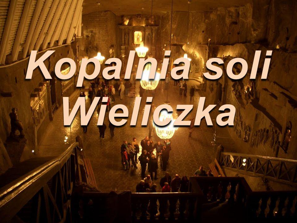 """""""Zabytkowa Kopalnia Soli w Wieliczce stanowi jedyny obiekt górniczy na świecie, czynny bez przerwy od średniowiecza do chwili obecnej."""