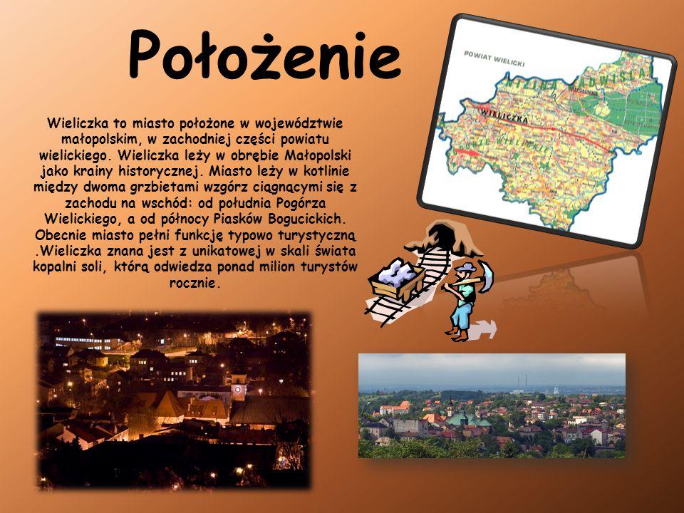 Wieliczka to miasto położone w województwie małopolskim, w zachodniej części powiatu wielickiego. Wieliczka leży w obrębie Małopolski jako krainy hist