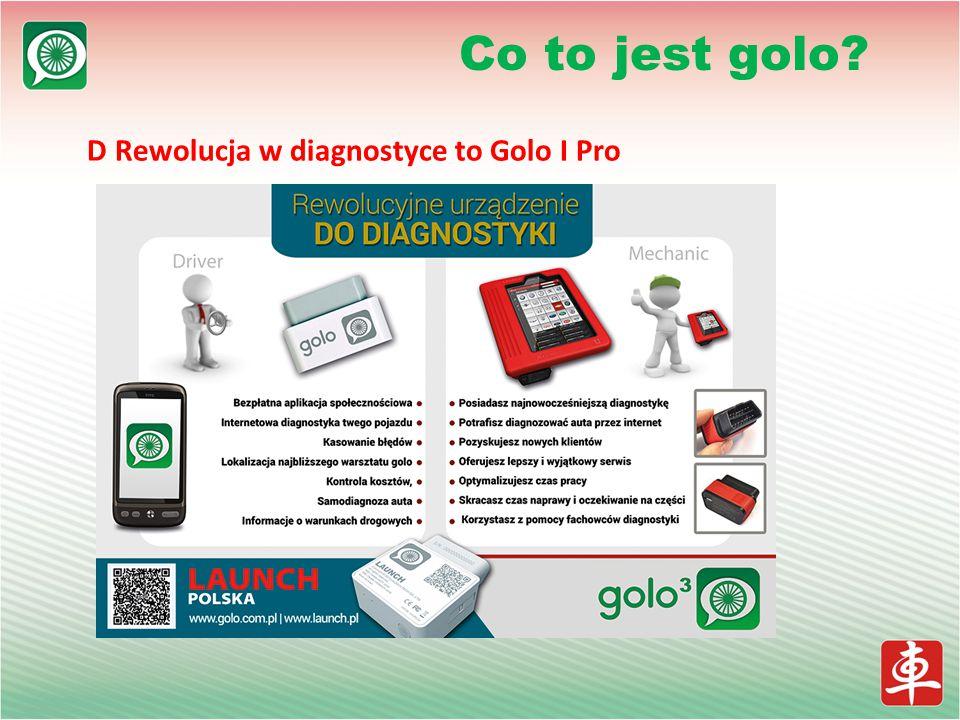 D Rewolucja w diagnostyce to Golo I Pro Co to jest golo?
