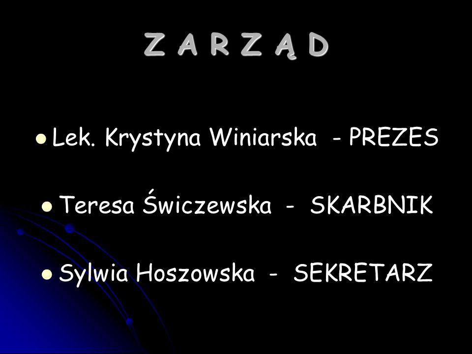 Z A R Z Ą D Lek.