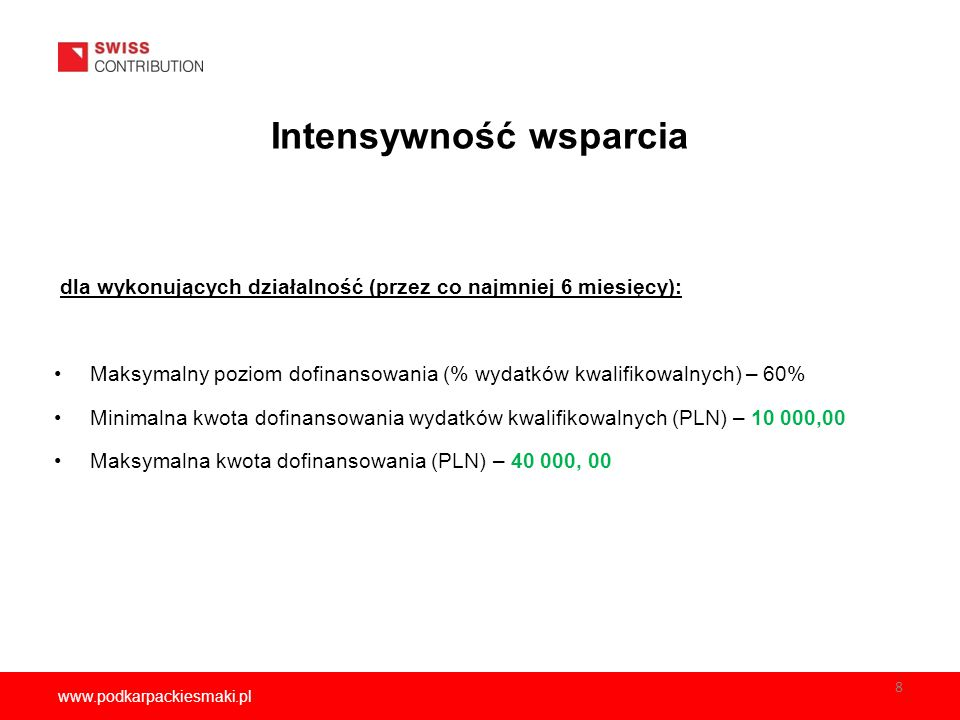 www.podkarpackiesmaki.pl Kontakt z BPRTE Konsultacje telefoniczne w godz.