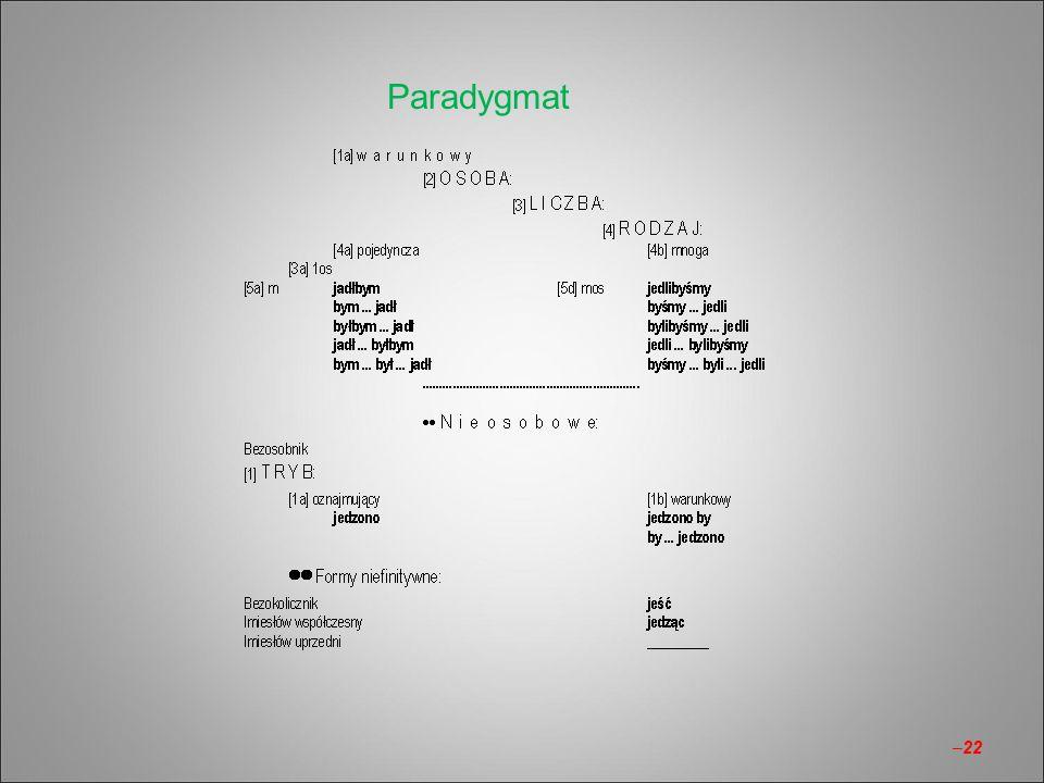 Paradygmat –22