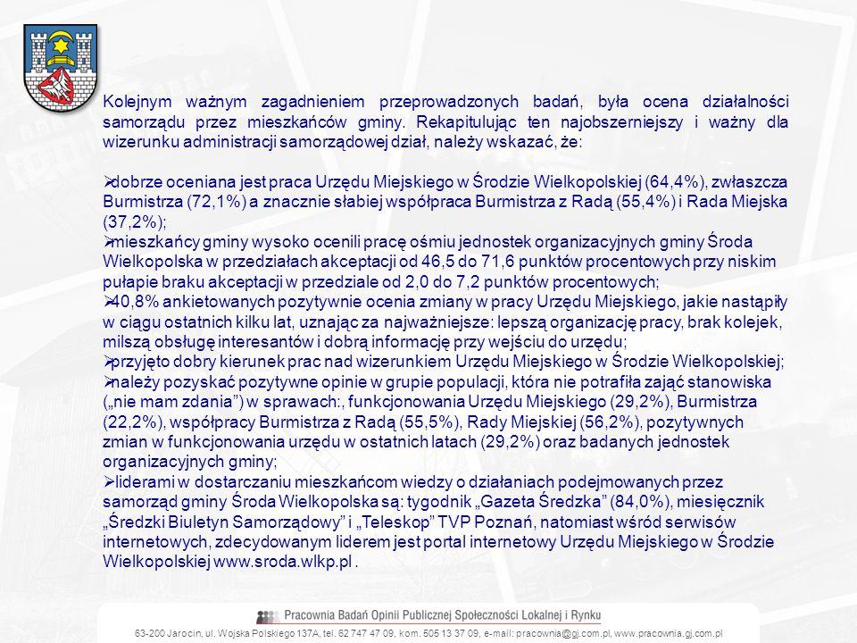 63-200 Jarocin, ul. Wojska Polskiego 137A, tel. 62 747 47 09, kom. 505 13 37 09, e-mail: pracownia@gj.com.pl, www.pracownia.gj.com.pl Kolejnym ważnym