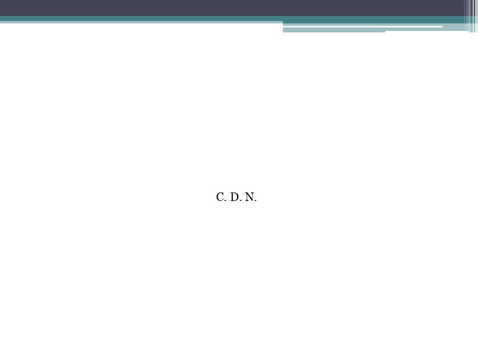 C. D. N.
