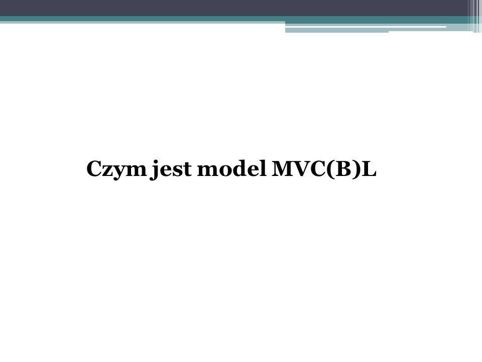 Czym jest model MVC(B)L