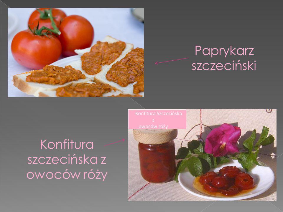 Grzyby marynowane z szynką Pierniki szczecińskie