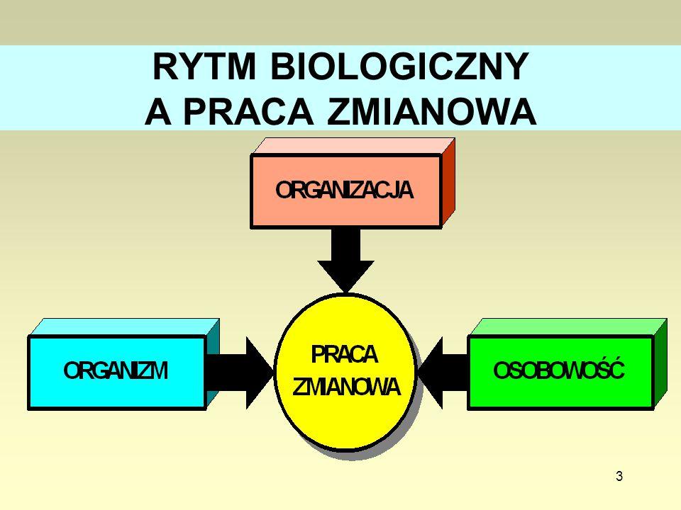 3 RYTM BIOLOGICZNY A PRACA ZMIANOWA