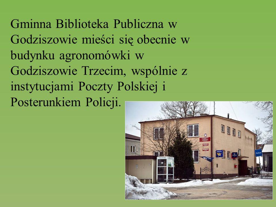 Gminna Biblioteka Publiczna w Godziszowie mieści się obecnie w budynku agronomówki w Godziszowie Trzecim, wspólnie z instytucjami Poczty Polskiej i Po