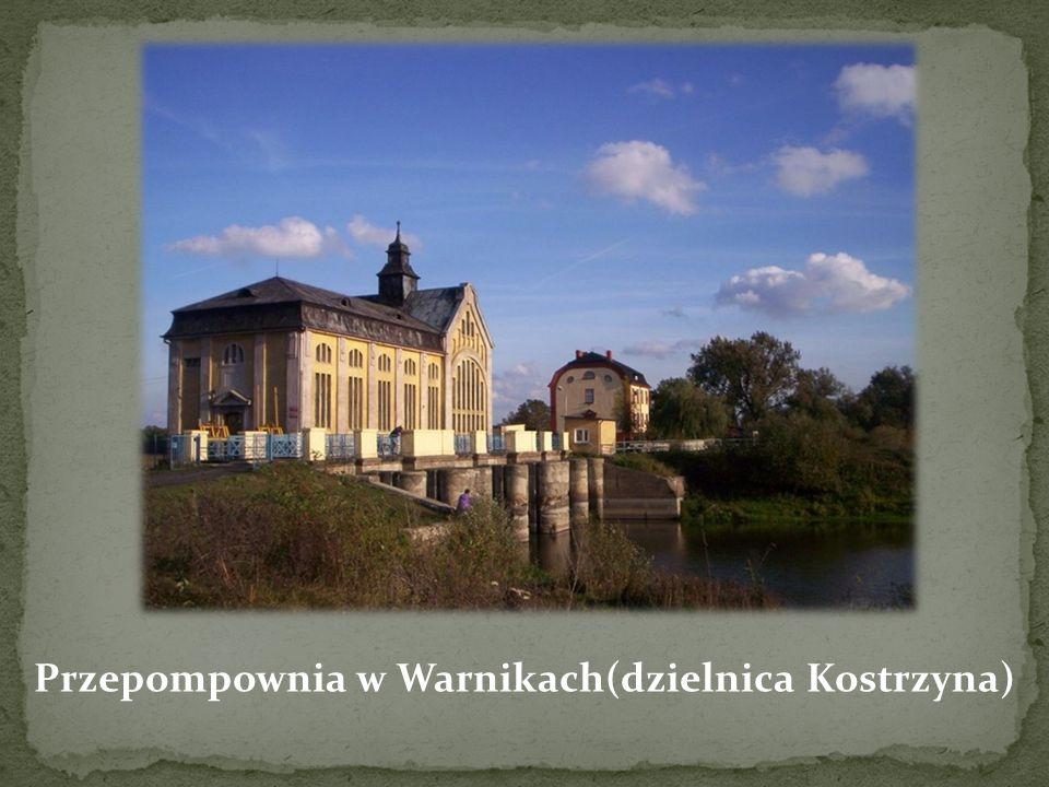 Przepompownia w Warnikach(dzielnica Kostrzyna)