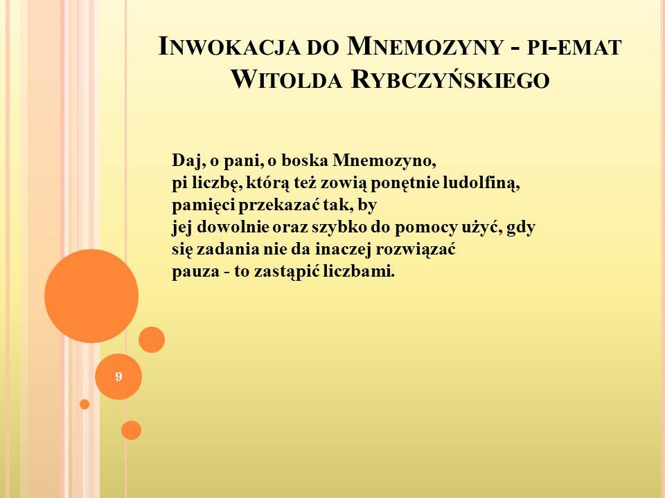 W IERSZ K AZIMIERZA C WOJDZIŃSKIEGO, PT.