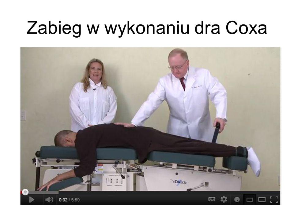 Zabieg w wykonaniu dra Coxa