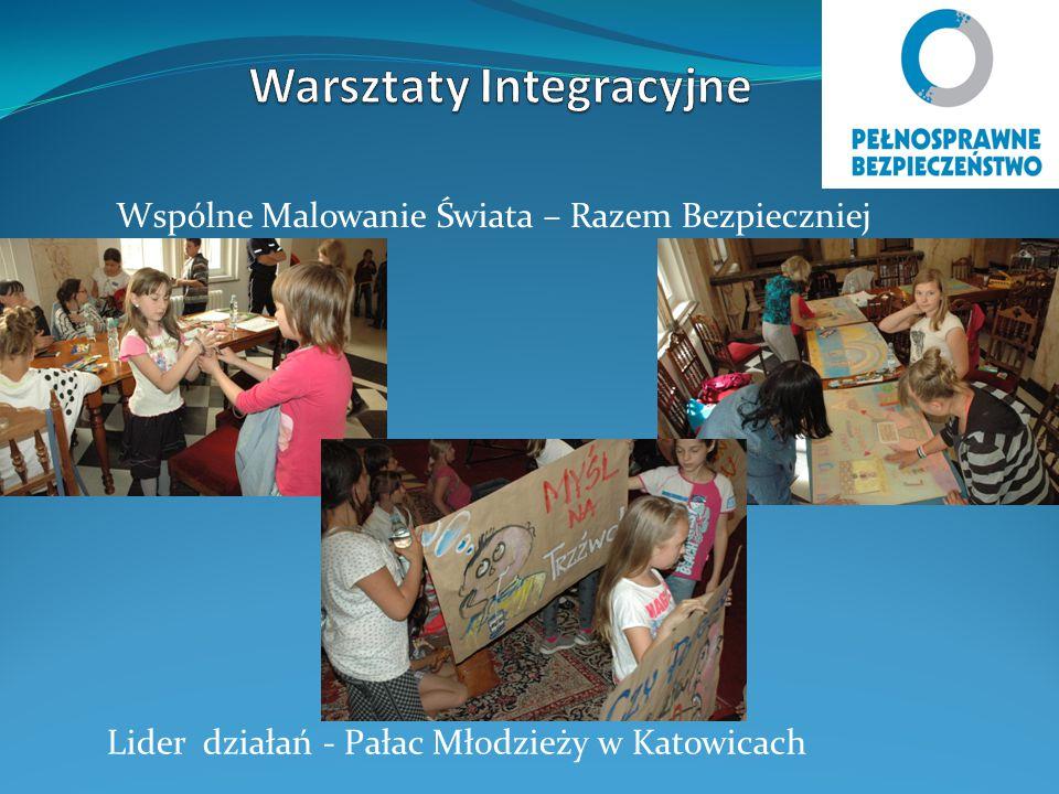 Wspólne Malowanie Świata – Razem Bezpieczniej Lider działań - Pałac Młodzieży w Katowicach