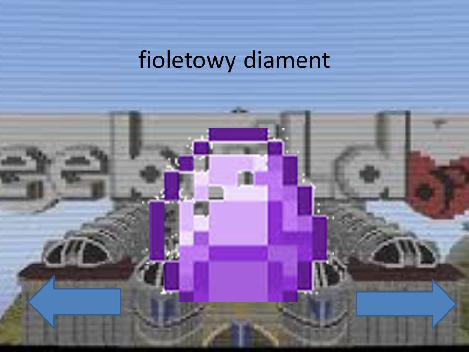 fioletowy diament