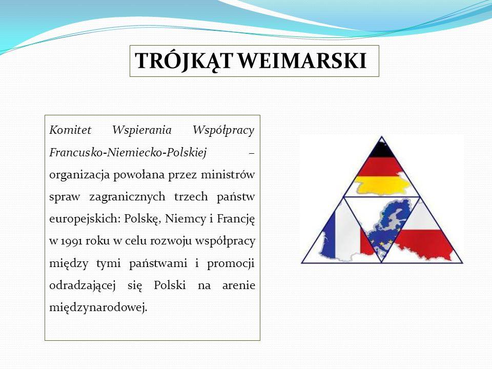 Komitet Wspierania Współpracy Francusko-Niemiecko-Polskiej – organizacja powołana przez ministrów spraw zagranicznych trzech państw europejskich: Pols