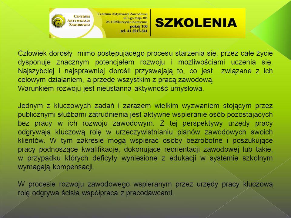 W Lokalnych Punktach Konsultacyjno-Informacyjnych w gminach Bliżyn, Suchedniów, Skarżysko Kościelne pracuje: 7 pośredników pracy oraz 3 doradców zawodowych.