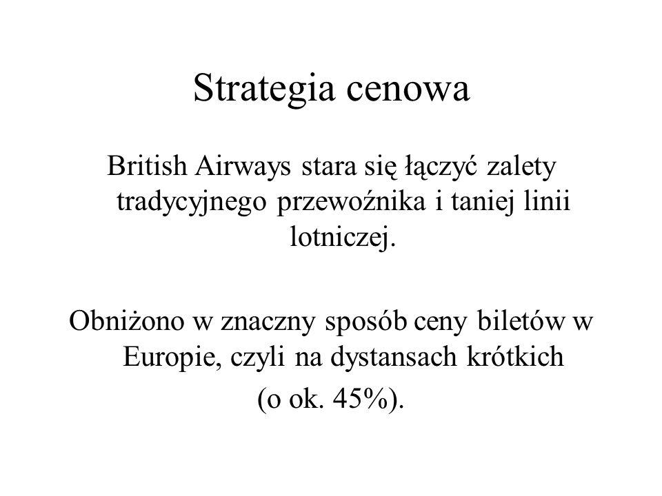 British Airways stara się łączyć zalety tradycyjnego przewoźnika i taniej linii lotniczej.