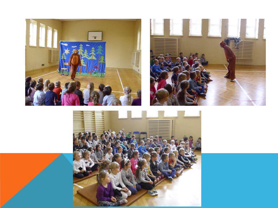 Tematyka teatrzyków została omówiona z uczniami wszystkich klas przez wychowawców.