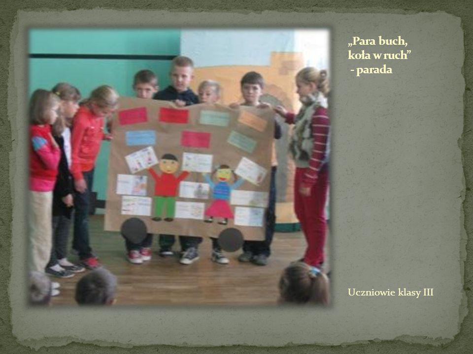 Uczniowie klasy III