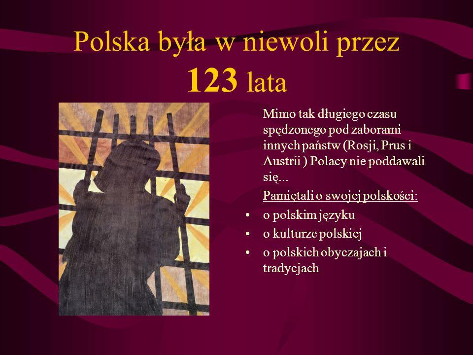 Polscy legioniści walczyli dzielnie o wolność swojej Ojczyzny... Próby wyzwolenia Ojczyzny były jednak daremne. Powstania zbrojne kończyły się przegra
