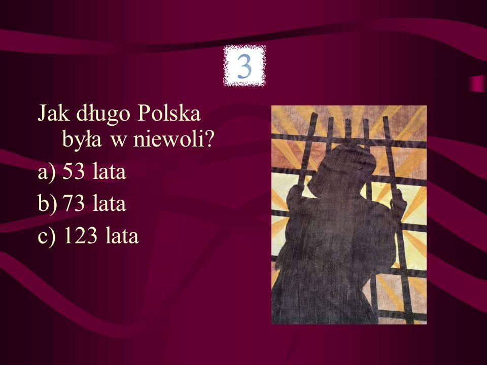 Ile rozbiorów przeżyła Polska?