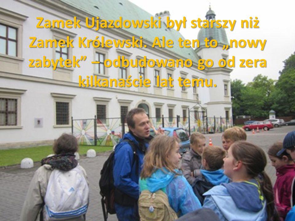 """Zamek Ujazdowski był starszy niż Zamek Królewski. Ale ten to """"nowy zabytek"""" – odbudowano go od zera kilkanaście lat temu."""