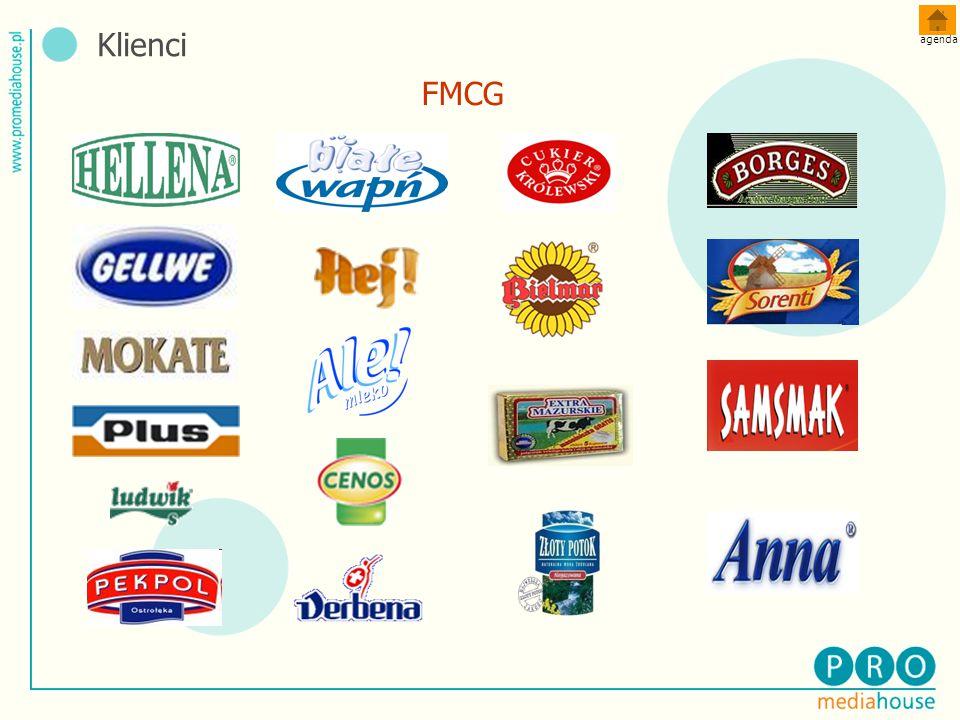 Klienci agenda FMCG