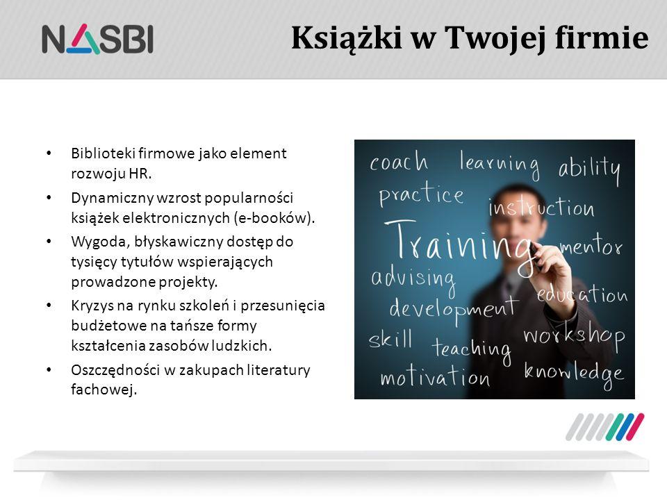 Książki w Twojej firmie Biblioteki firmowe jako element rozwoju HR.