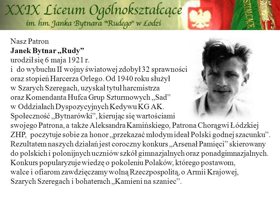 Pamiętamy… O Janku Bytnarze, żołnierzach AK i harcerzach Szarych Szeregów.