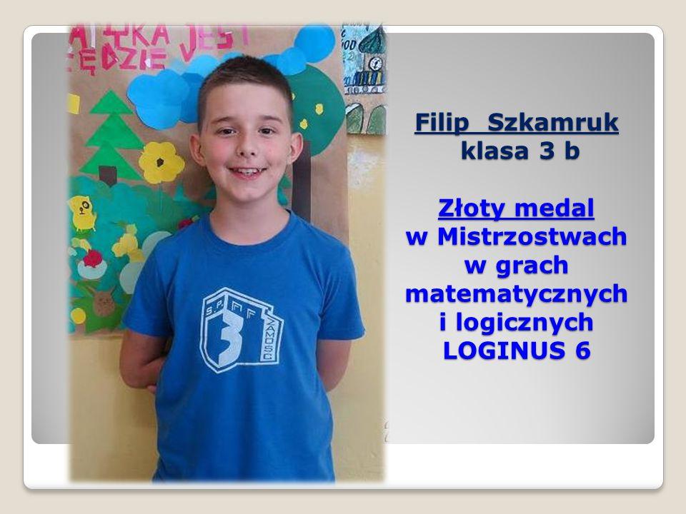 II miejsce Przemysław Lewandowski klasa 6b wyróżnienie Julia Bondyra klasa 6c VII Powiatowy konkurs języka angielskiego Young Champions of English