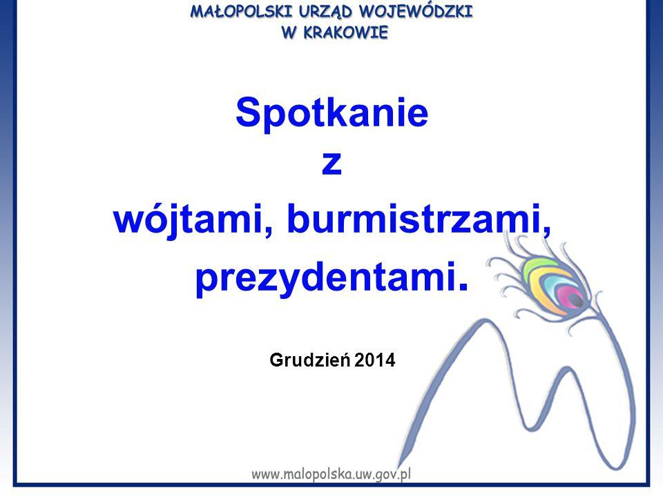 Temat: 2015 rZmiany prawne i organizacyjne związane z wejściem w życie w 2015 r.