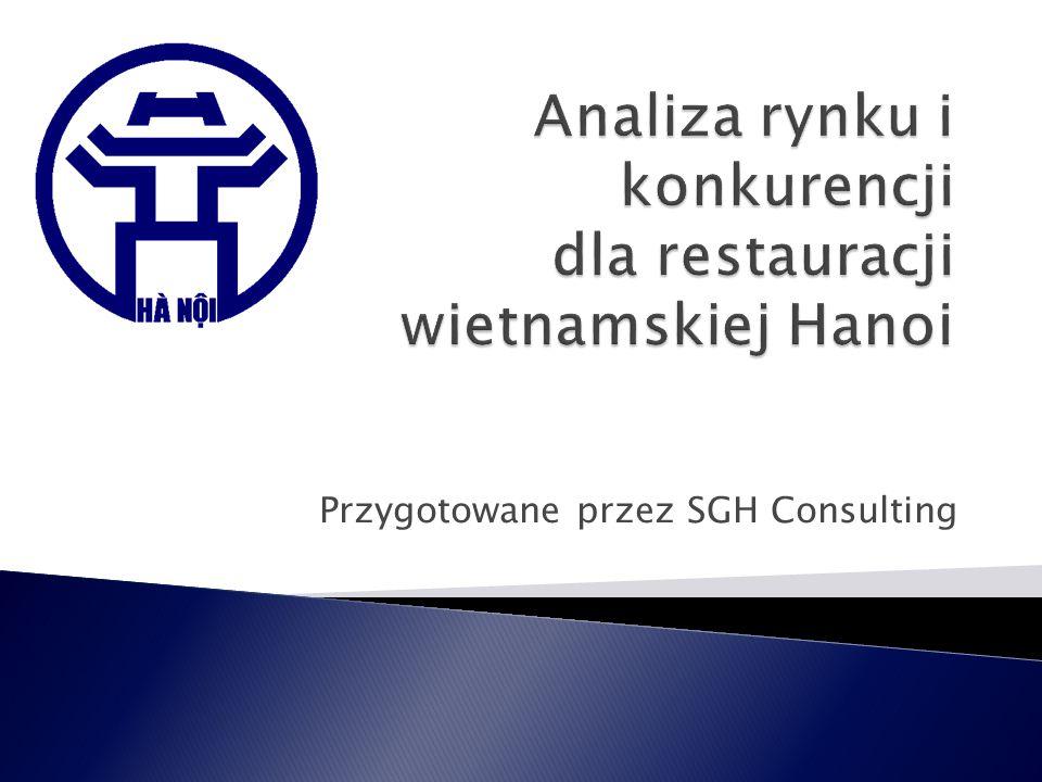 Groźba pojawienia się nowych konkurentów: przewiduje się spadek wartości sektora restauracji sieciowych w 2012 roku z 7 do 2 mln zł przy jednoczesnym wzroście sektora lokali niezależnych z 3,8 mln do 4,3 mln zł.