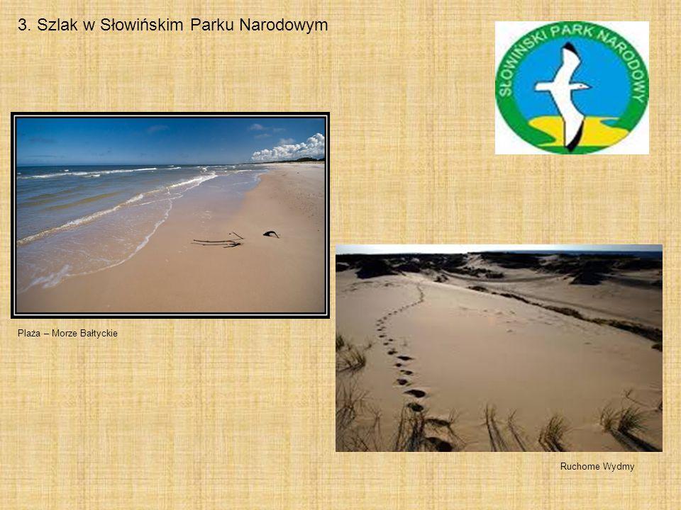 3. Szlak w Słowińskim Parku Narodowym Ruchome Wydmy Plaża – Morze Bałtyckie