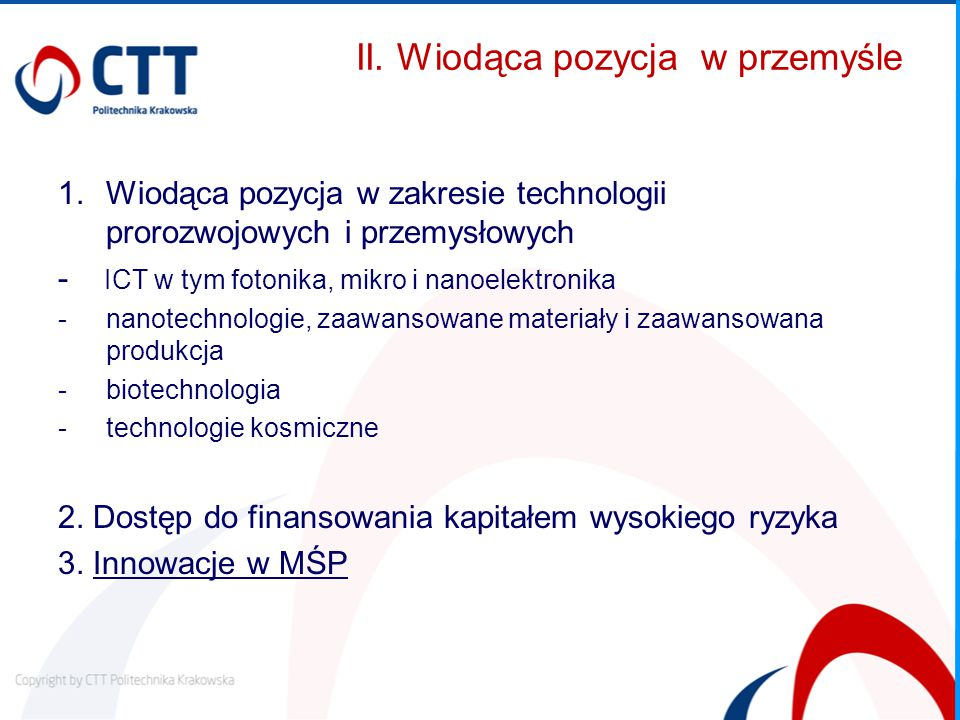 Innovative Training Networks - ITN CEL wyszkolenie nowego pokolenia kreatywnych, przedsiębiorczych i innowacyjnych naukowców zwiększenie doskonałości i ustrukturyzowanie szkoleń doktorantów CHARAKTERYSTYKA 3 typy projektów: European Training Networks (ETN), European Industrial Doctorates (EID) lub European Joint Doctorates (EJD) sieć składa się z minimum 3 uczestników (wyjątek: EID – min 2) 4-letni kompleksowy i komplementarny program szkoleń, organizacja warsztatów i konferencji mobilność międzynarodowa i międzysektorowa, z naciskiem na umiejętności innowacyjne granty dla początkujących naukowców od 3 do 36 miesięcy rekrutacja ESR do 540 osobomiesięcy (EID z 2 partnerami 180o/m) OCZEKIWANE REZULTATY zwiększenie możliwości zatrudnienia naukowców w różnych sektorach i poprawa perspektyw rozwoju ich kariery