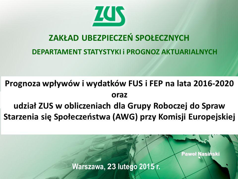 1 Warszawa, 23 lutego 201 5 r.