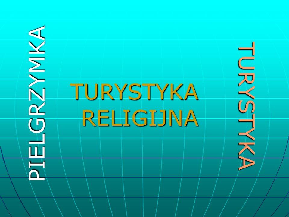 TURYSTYKA PIELGRZYMKA TURYSTYKA RELIGIJNA