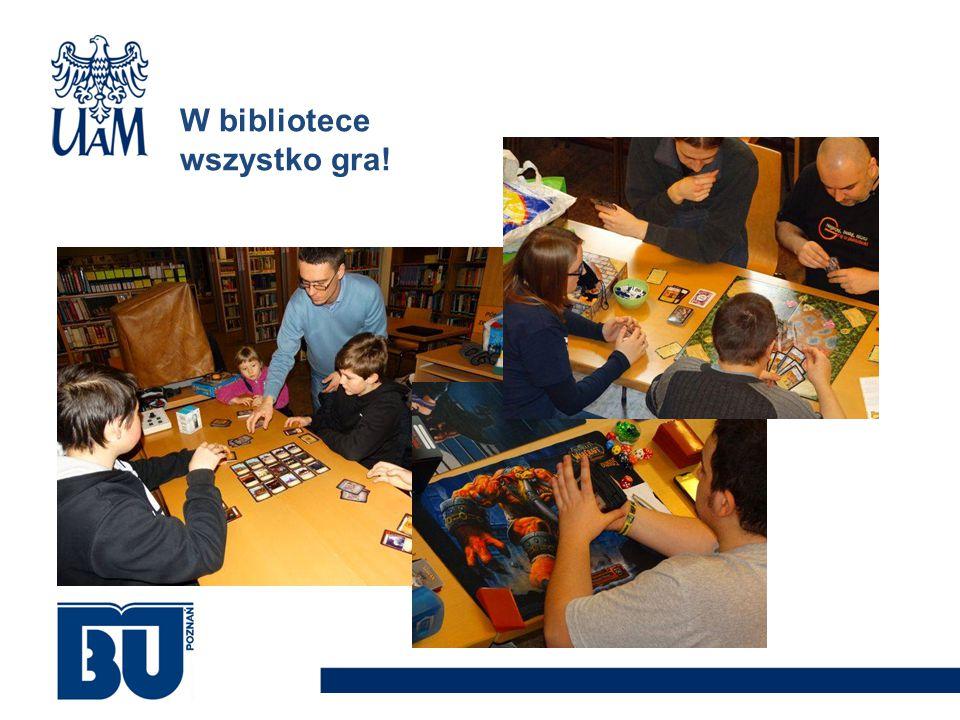 W bibliotece wszystko gra!
