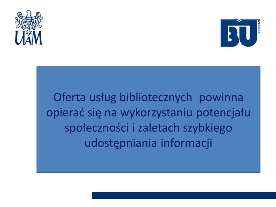 Społeczność akademicka AMUR repozytorium instytucjnalne Biblioteka Uniwersytecka poszukuje Bibliotekarze dziedzinowi Zaproponuj kupno książki