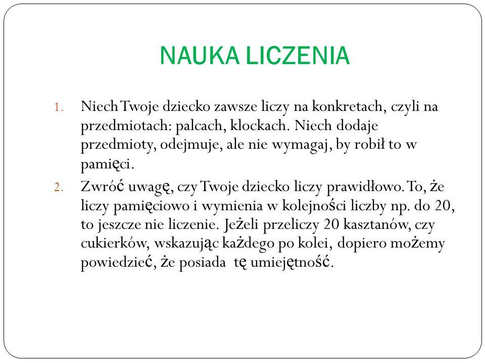 NAUKA LICZENIA 1.