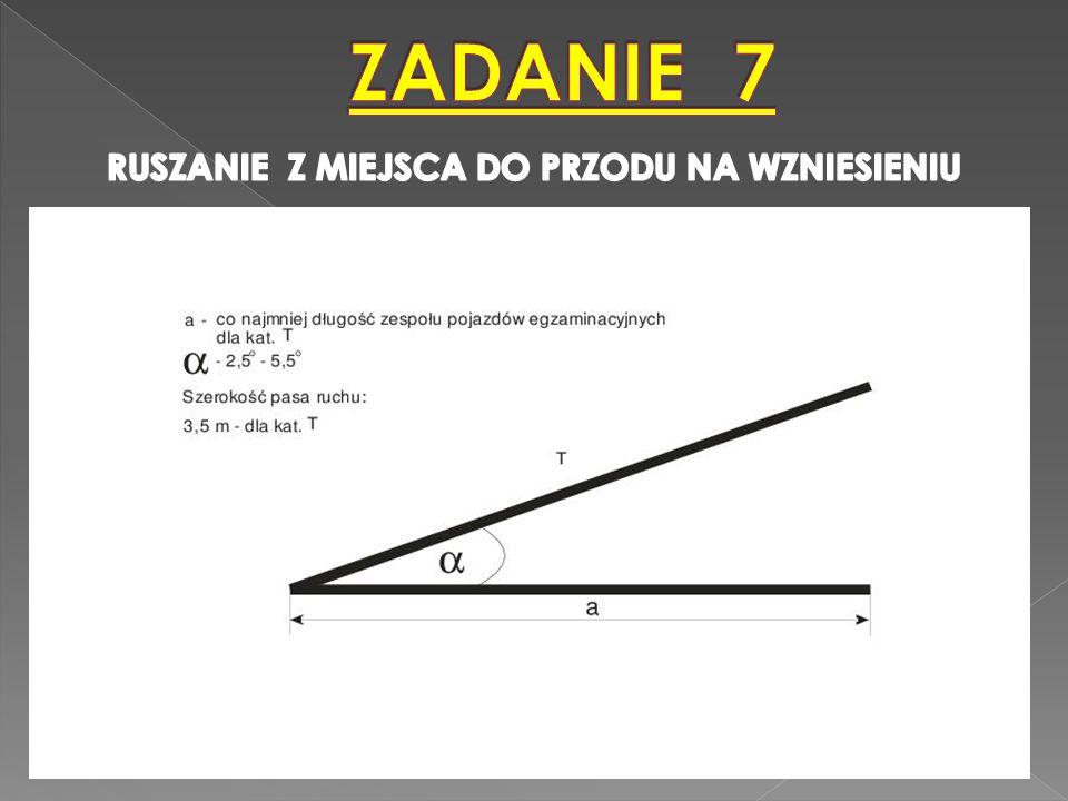PRZY RUSZANIU POJAZD NIE POWINIEN COFNĄĆ SIĘ WIĘCEJ NIŻ 0,2 m.