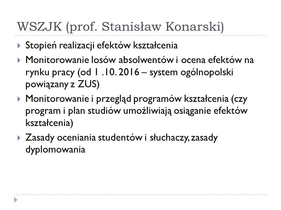 WSZJK (prof.