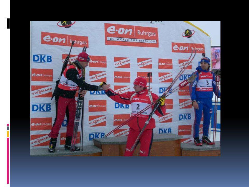 23 – krotnie stawał na podium Pucharu Świata z tego wygrał 5 razy, 9 razy zajmował drugie miejsce oraz 9 razy trzecie miejsce 6-krotny mistrz Europy i zarazem 13-krotny medalista mistrzostw Europy, wielokrotny medalista mistrzostw Polski w biegach biathlonowych.