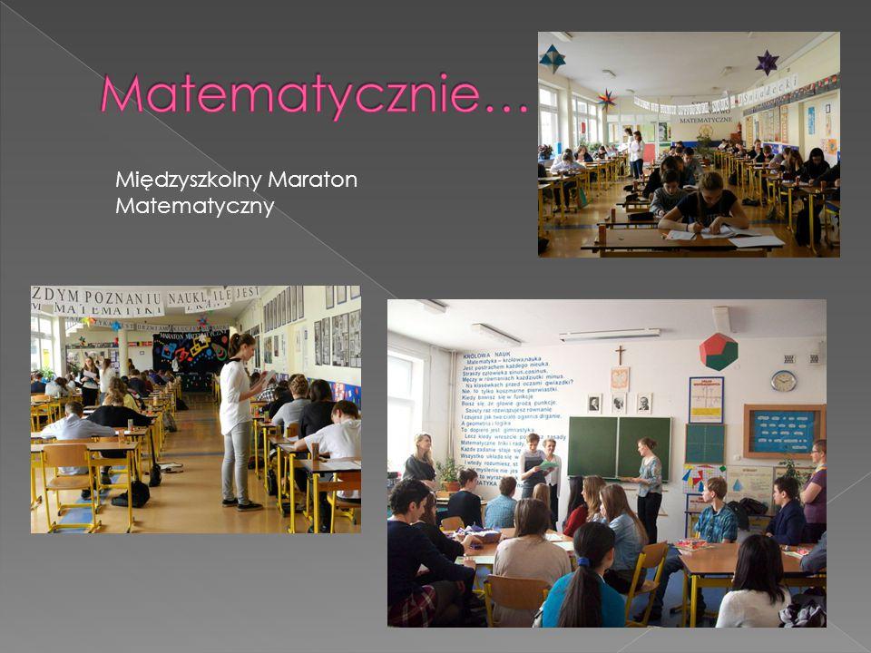 Międzyszkolny Maraton Matematyczny