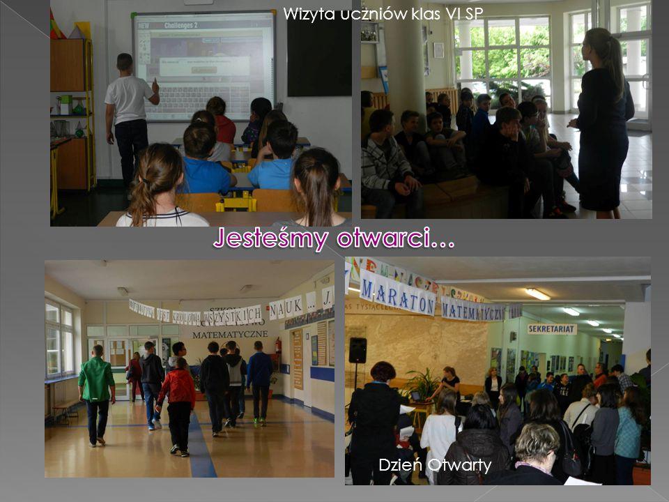 Dzień Otwarty Wizyta uczniów klas VI SP