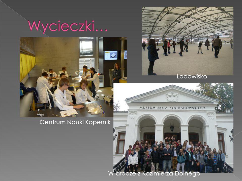 Centrum Nauki Kopernik Lodowisko W drodze z Kazimierza Dolnego