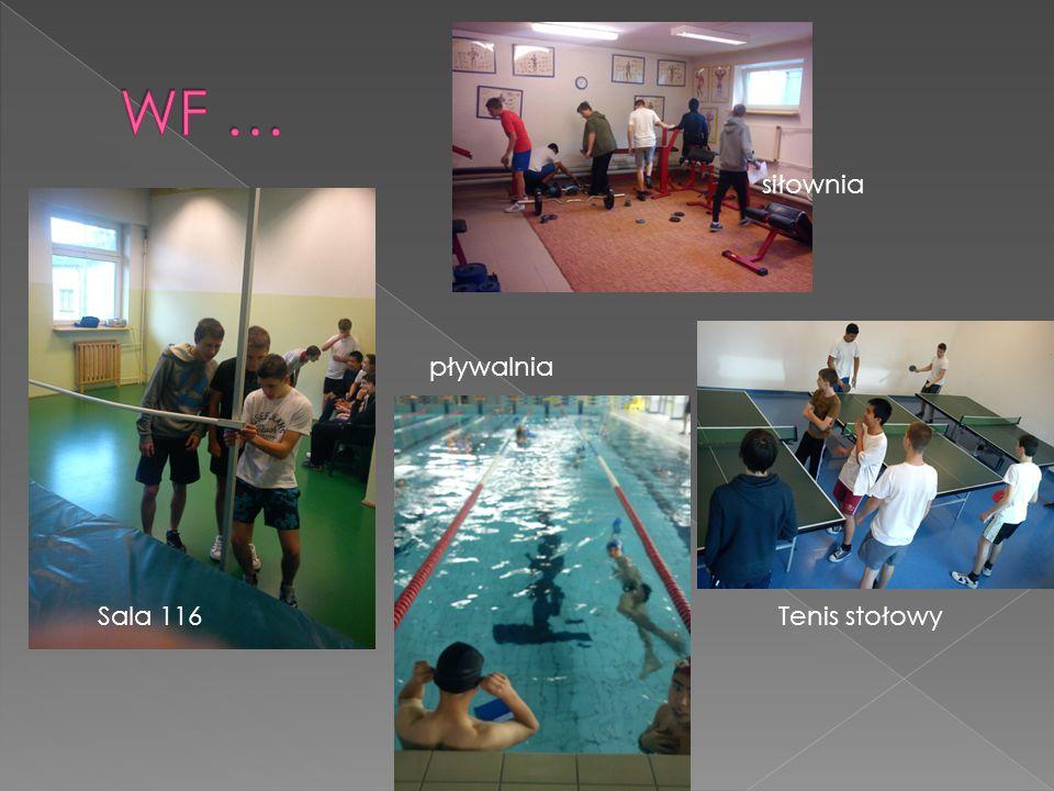 Sala 116 siłownia Tenis stołowy pływalnia