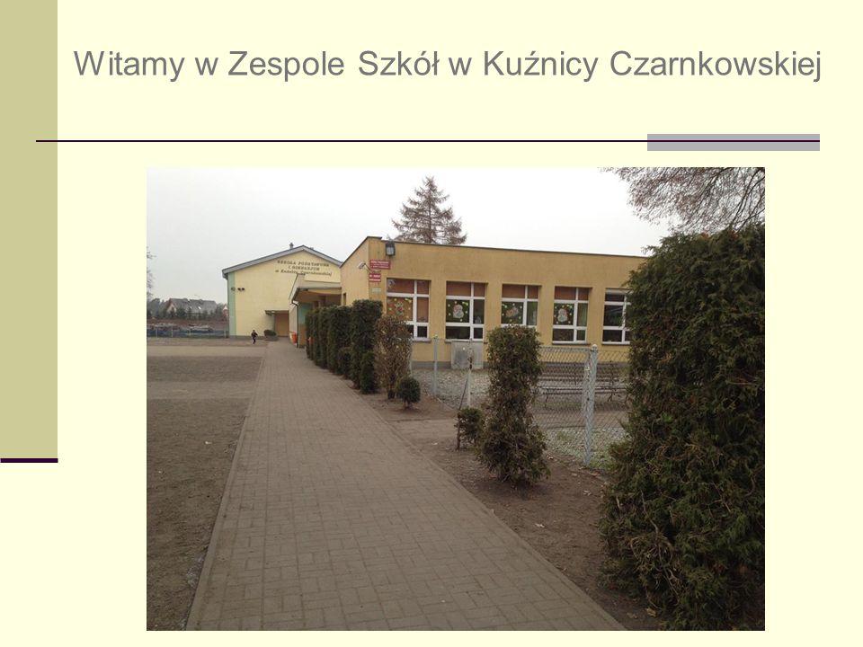 Witamy w Zespole Szkół w Kuźnicy Czarnkowskiej