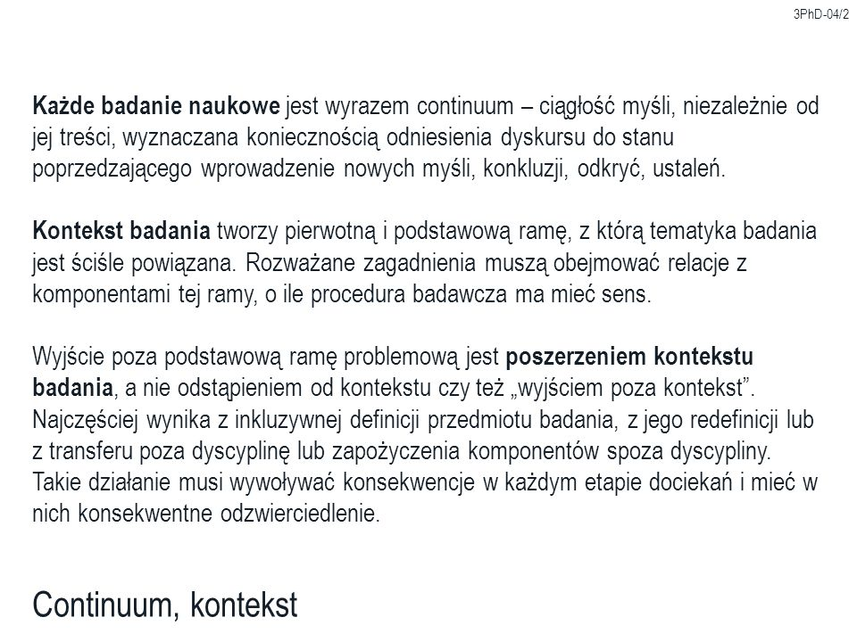 3PhD-04/13 Standardy bibliograficzne Polskie normy związane z kształtowaniem informacji bibliograficznej: –PN-N-01152-5:2001 Opis bibliograficzny.