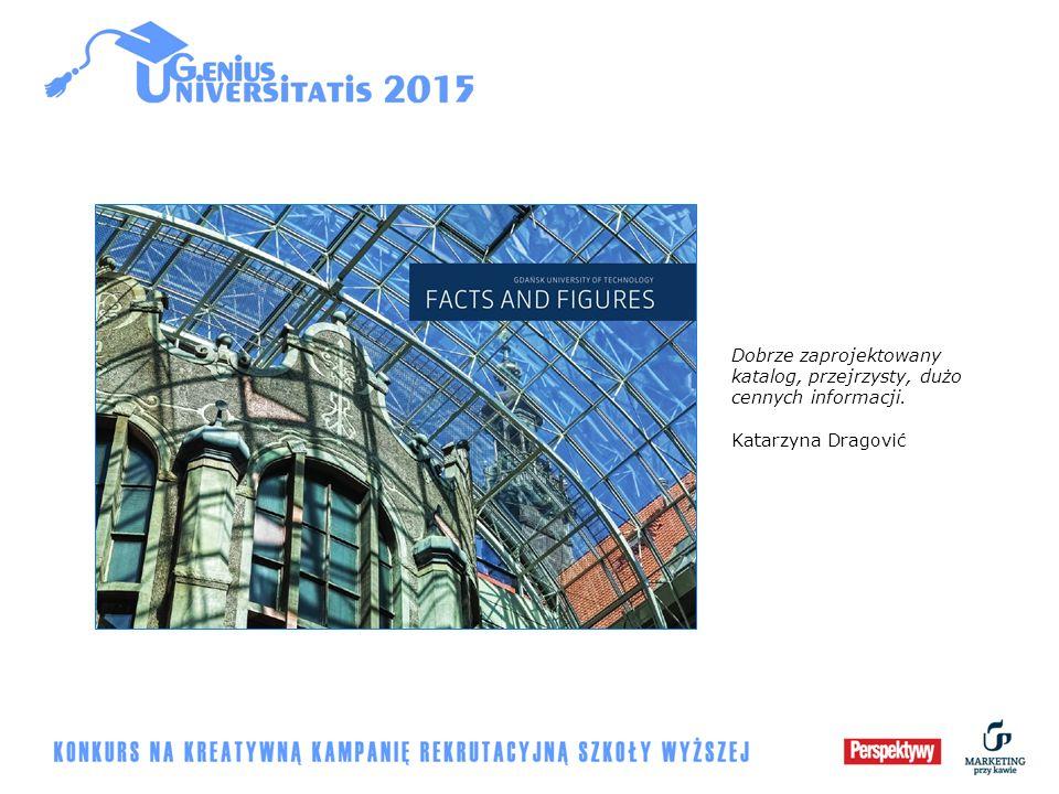 Dobrze zaprojektowany katalog, przejrzysty, dużo cennych informacji. Katarzyna Dragović