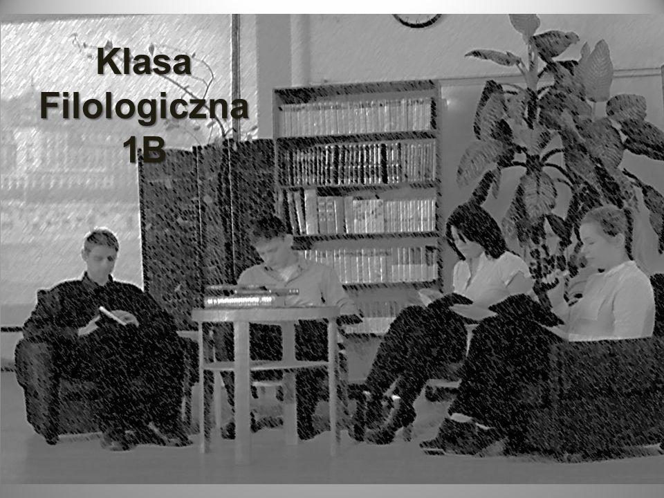 Klasa Filologiczna 1B